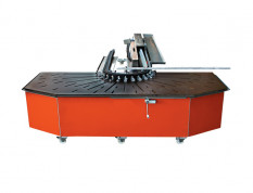 ARIES Manual Vinyl (PVC) Hot Liquid Profile Bending Machine
