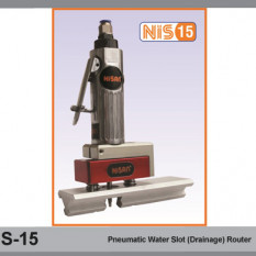 NIS-15 Pneumatic Water Slot (Drainage) Router