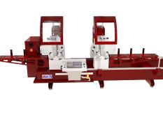 ZIGMA-06 FA Heavy Duty 22″ (550 MM) Full Automatic CNC Double Head Automatic Saw
