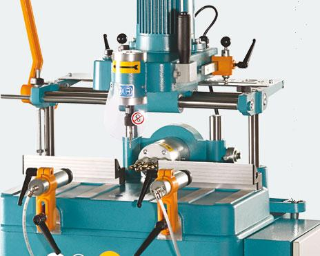 LIBRA-02 HM Manual Copy Router With Horizontal Drilling Unit 2