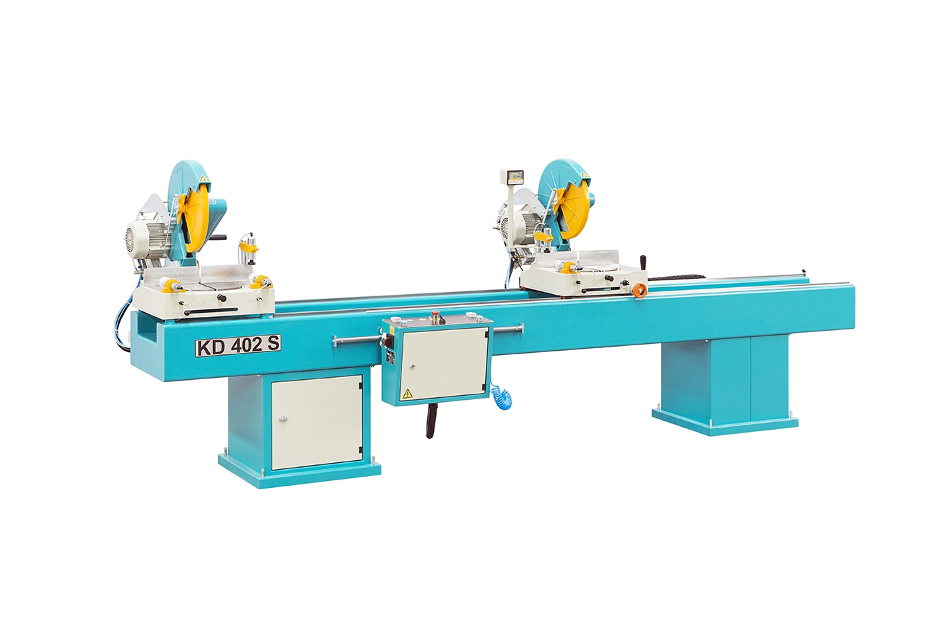NORMA-02 SA Semi-Automatic Double Head Miter Saw 16″ (400 mm) with Digital Read-Out 1 (6)