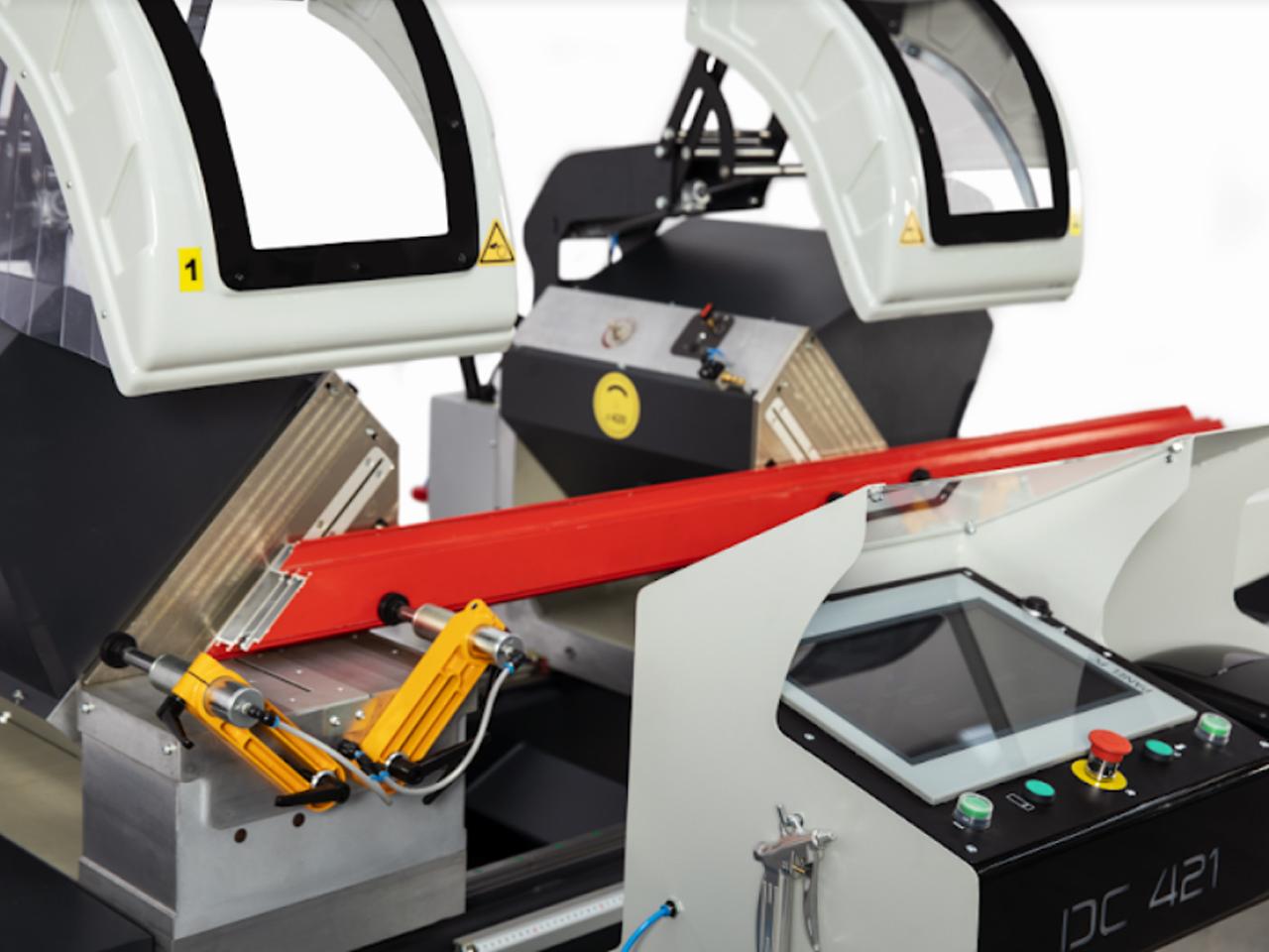 ZIGMA-02 AP CNC Double Head Miter Saw Cutting Machine 16-12 (420 mm) Aluminum profile cut