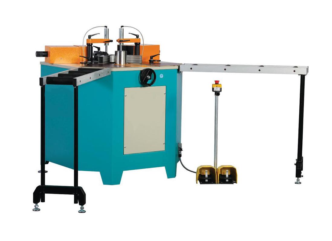 APIS-02 H Hydraulic Corner Crimping Machine