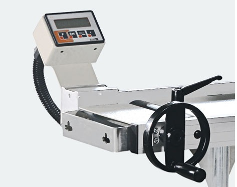 DKN-300 Manual Roller Table With Digital Read-Out 2