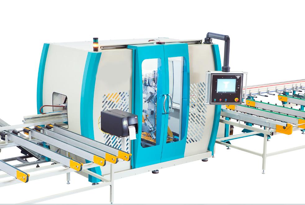 PVC profile processing machine 1