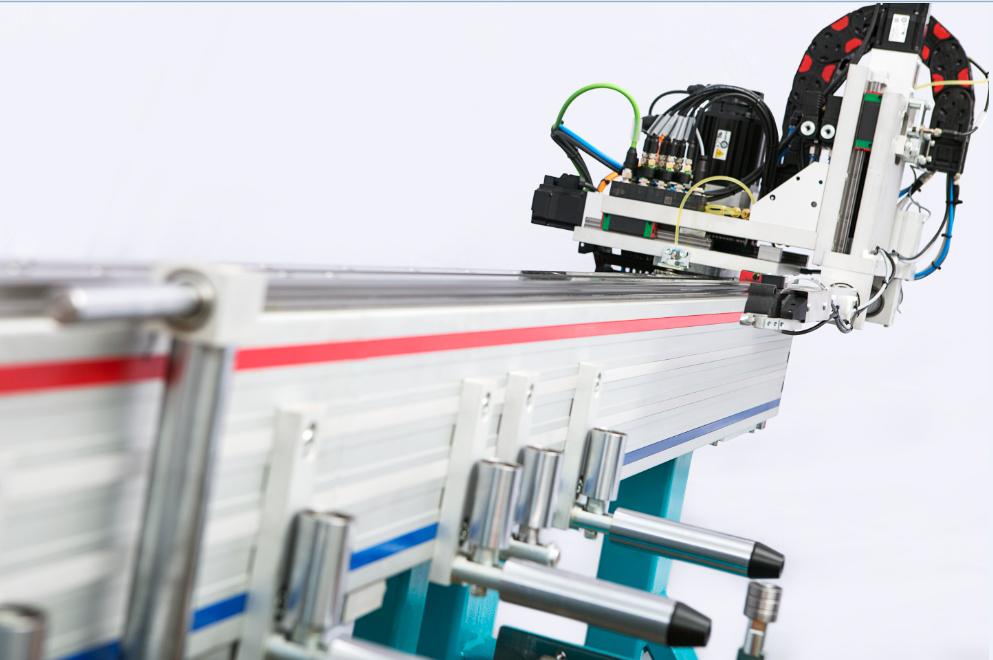 PVC profile processing machine 10