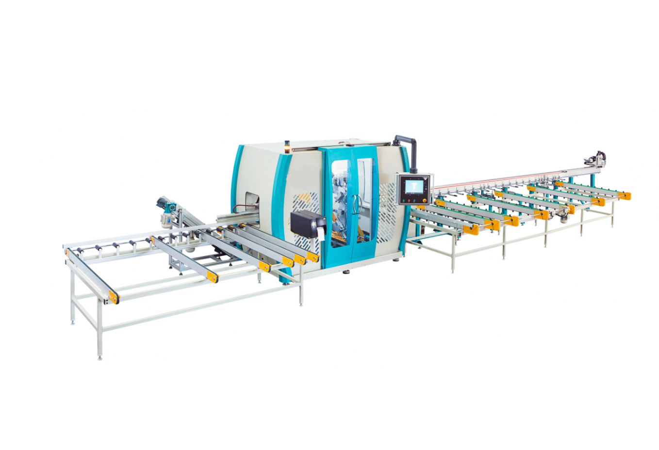 PVC profile processing machine