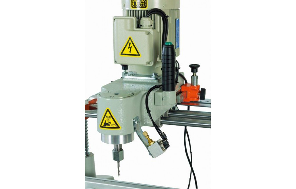 LIBRA-06-PRO Heavy Duty Manual Copy Router Back