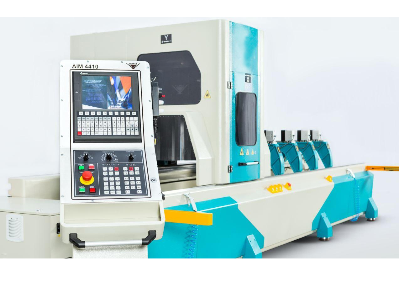 AIM 4410 - 4 AXES Aluminium Profile Processing Center