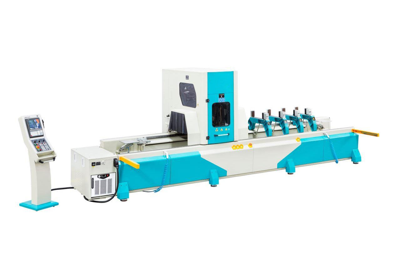 AIM 4410 - 4 AXES Aluminium Profile Processing Center2