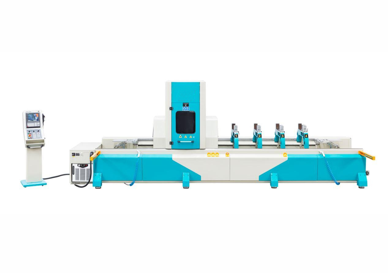 AIM 4410 - 4 AXES Aluminium Profile Processing Center5