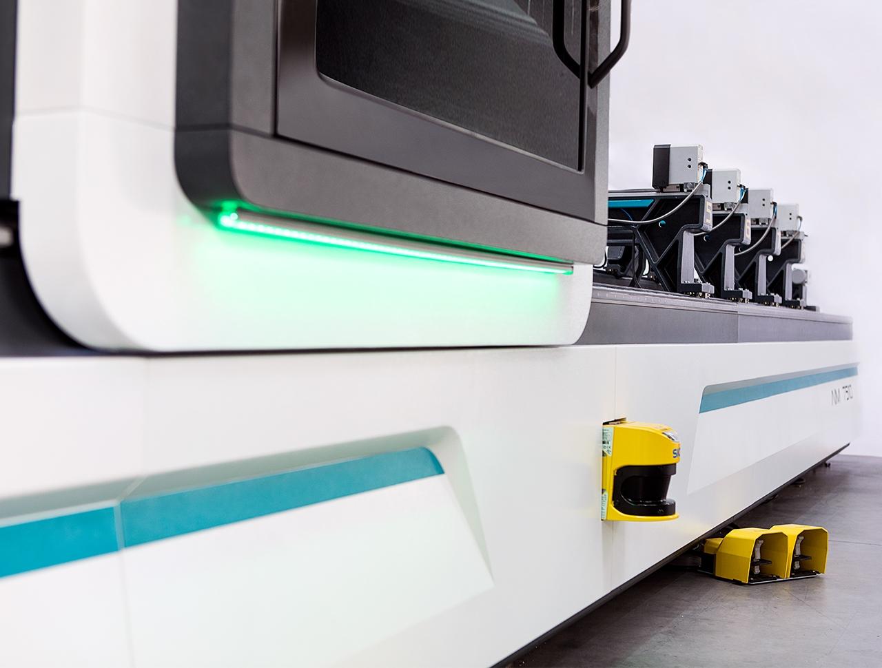 aim 7510 5 axes aluminium profile processing center cnc machine 3