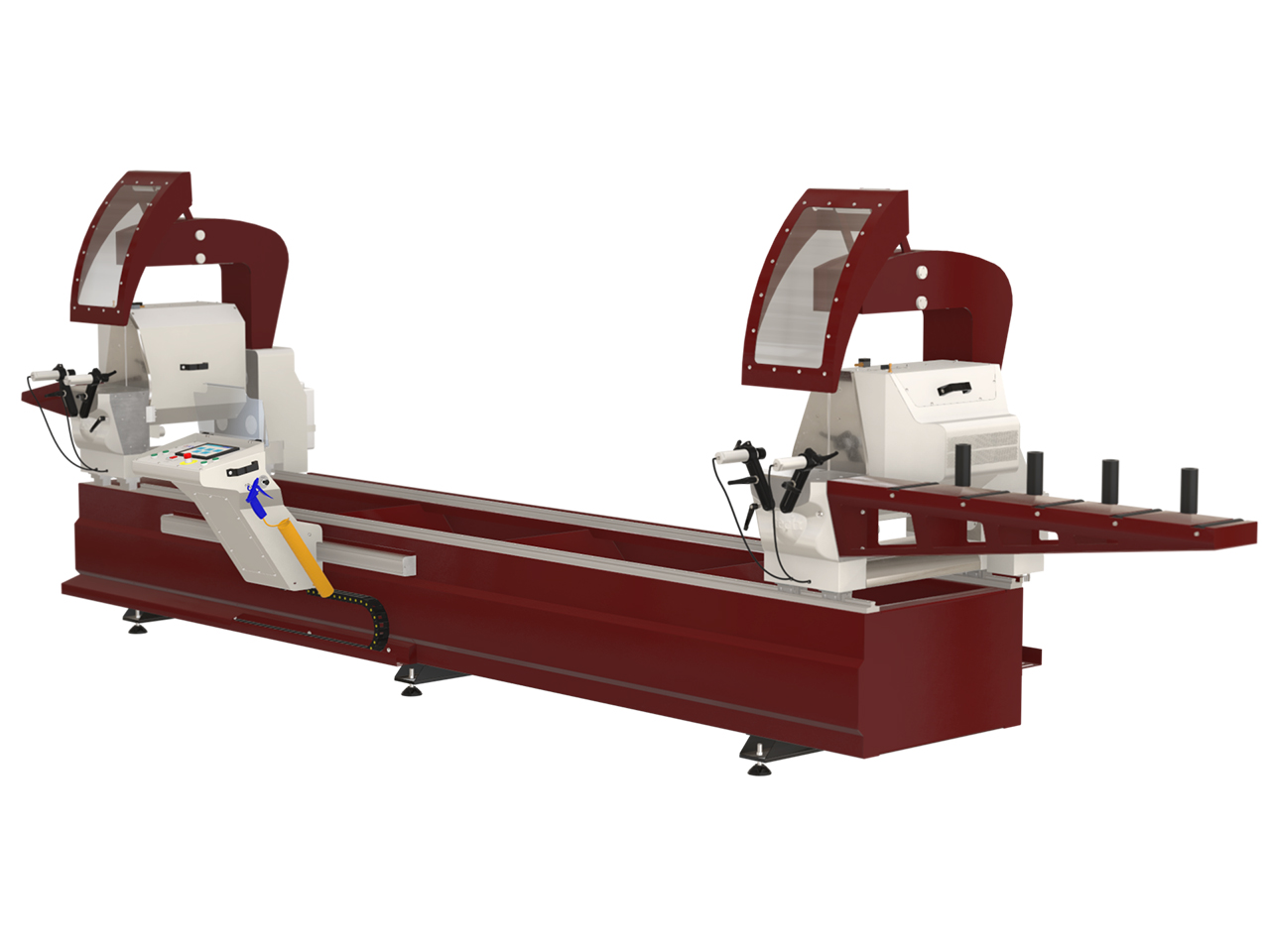 Aluminium, PVC, Wood Profile Cutting Machine