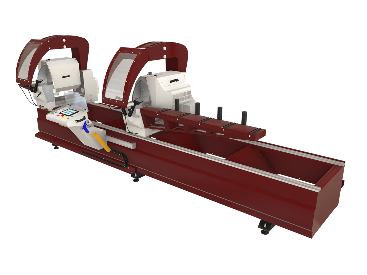 Double Head Aluminium Profile Cutting Machine
