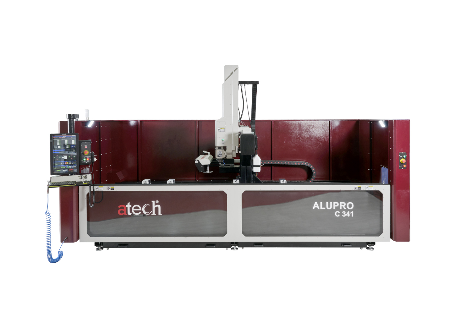 ALUPRO C341 4 AXES CNC Controlled Panel Aluminum Profile Working Mahinery (3)